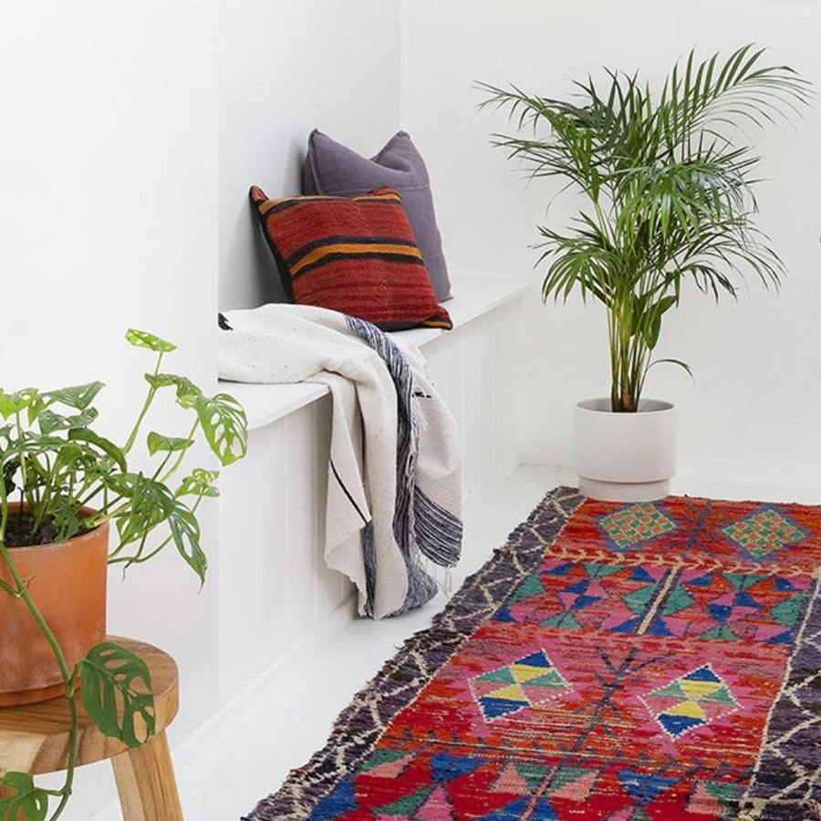 Moroccan Throw - Azure - Throw - Lost Lover