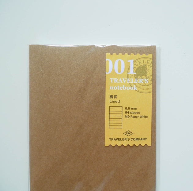 001 Refill Lined Notebook (Regular Size)