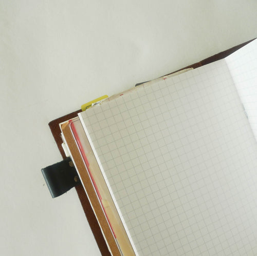 002 Refill Grid Notebook (Regular Size)