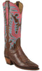Lucchese Classics L4650 Womens Chocolate Oil Calfskin Boot