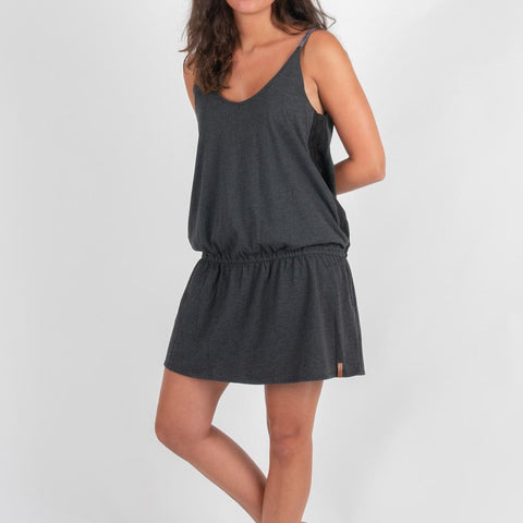 Boulevard Dress - Asphalt Grey