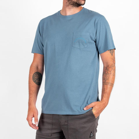 Islands T-shirt - Blue
