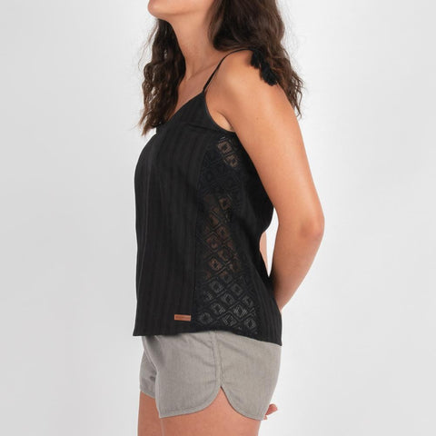 Layback Top - Black