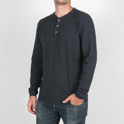 Radcliffe Long Sleeve Henley T-shirt