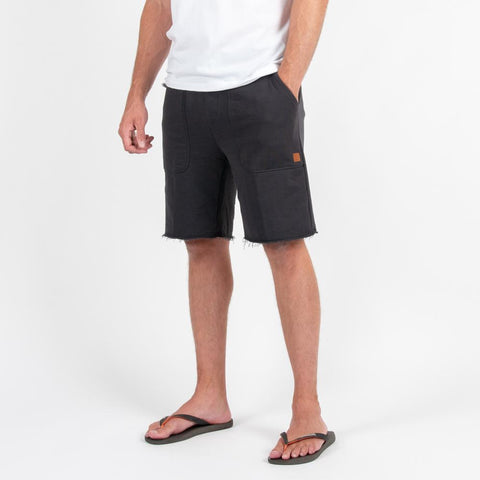 Slacker Jogger Shorts - Charcoal