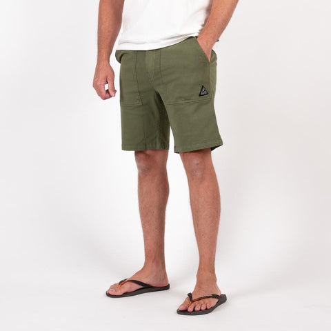 Forge Short - Khaki Green