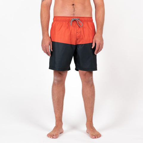 Sunsetts Boardshort - Rust/Black