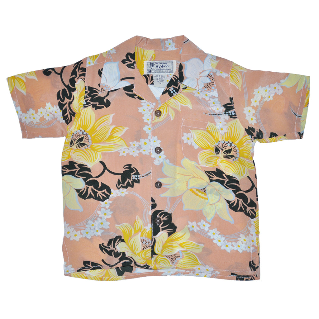 Boy's Keanu Hawaiian Shirt