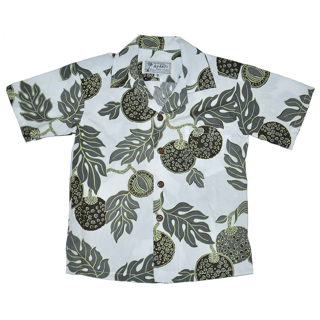 Boy's Fruit of Life Aloha Shirt