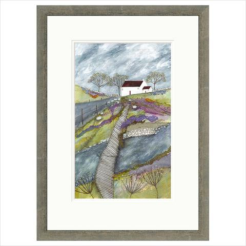 Limited Edition Print - A patch over the river FRAMED
