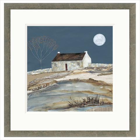 Limited Edition Print - A frosty moon FRAMED