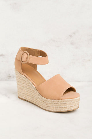 Barbara Vegan Tan Slide Sandals