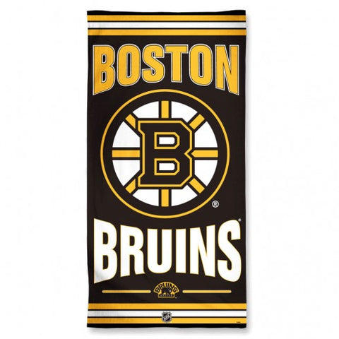 "Beach Towel Boston Bruins - 30"" x 60"""