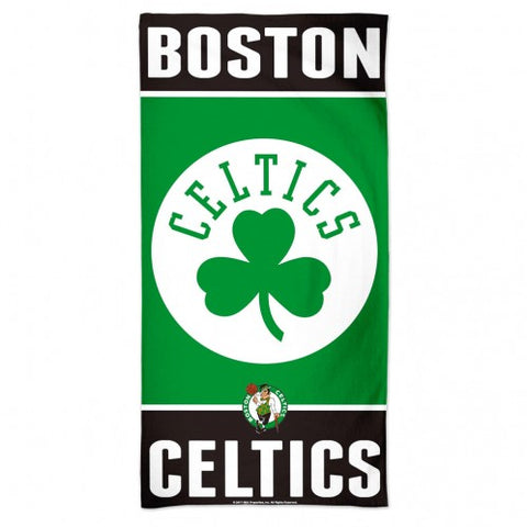 "Beach Towel Boston Celtics - 30"" x 60"""