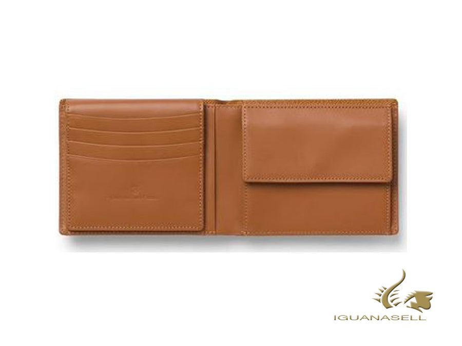Graf von Faber-Castell Epsom Wallet, Brown, Calfskin Leather, 8 Cards, 118935 Graf von Faber-Castell Wallet