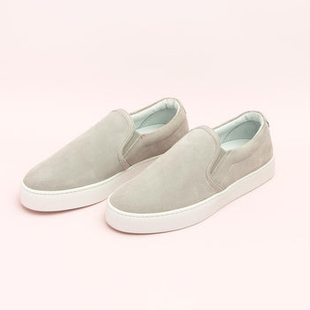 Women's Grey Slip-On Sneaker