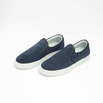 Women's Navy Slip-On Sneaker