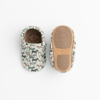 Zebra Safari City Mocc Mini Sole