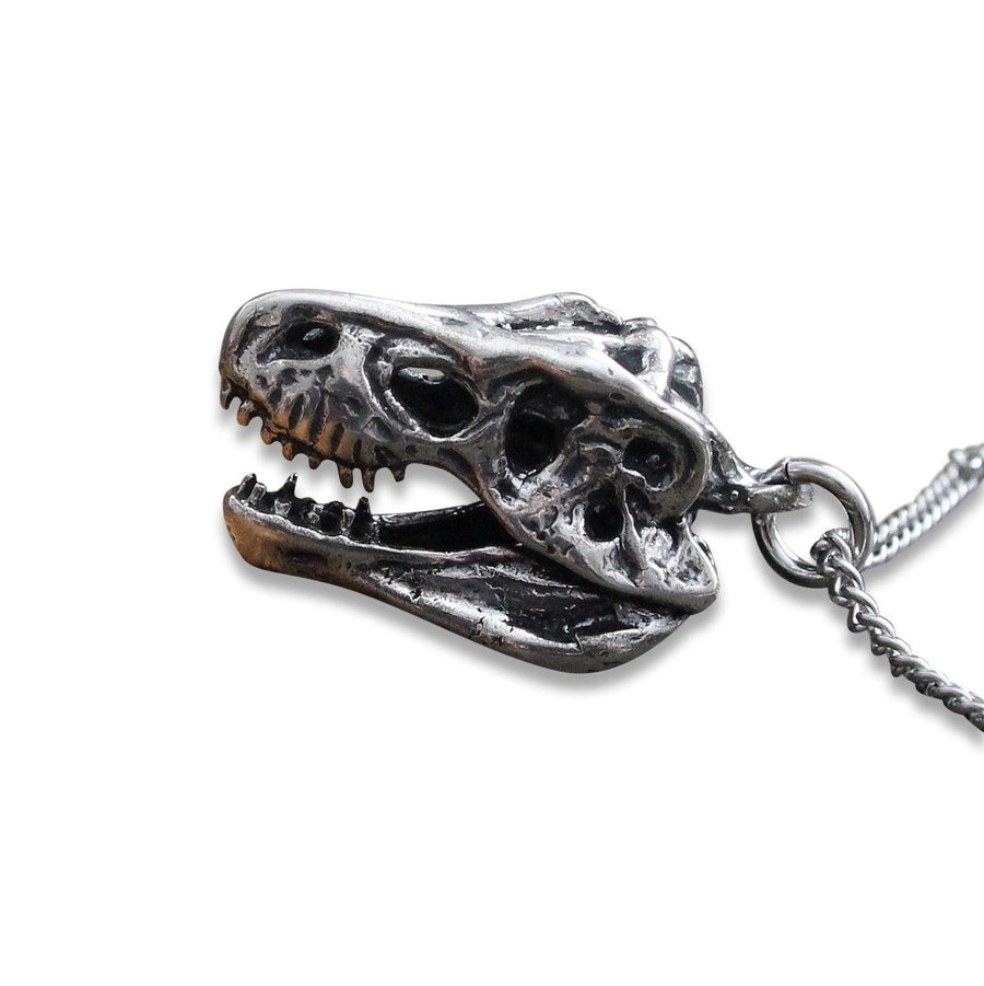 3D T-Rex Skull Necklace - Moon Raven Designs