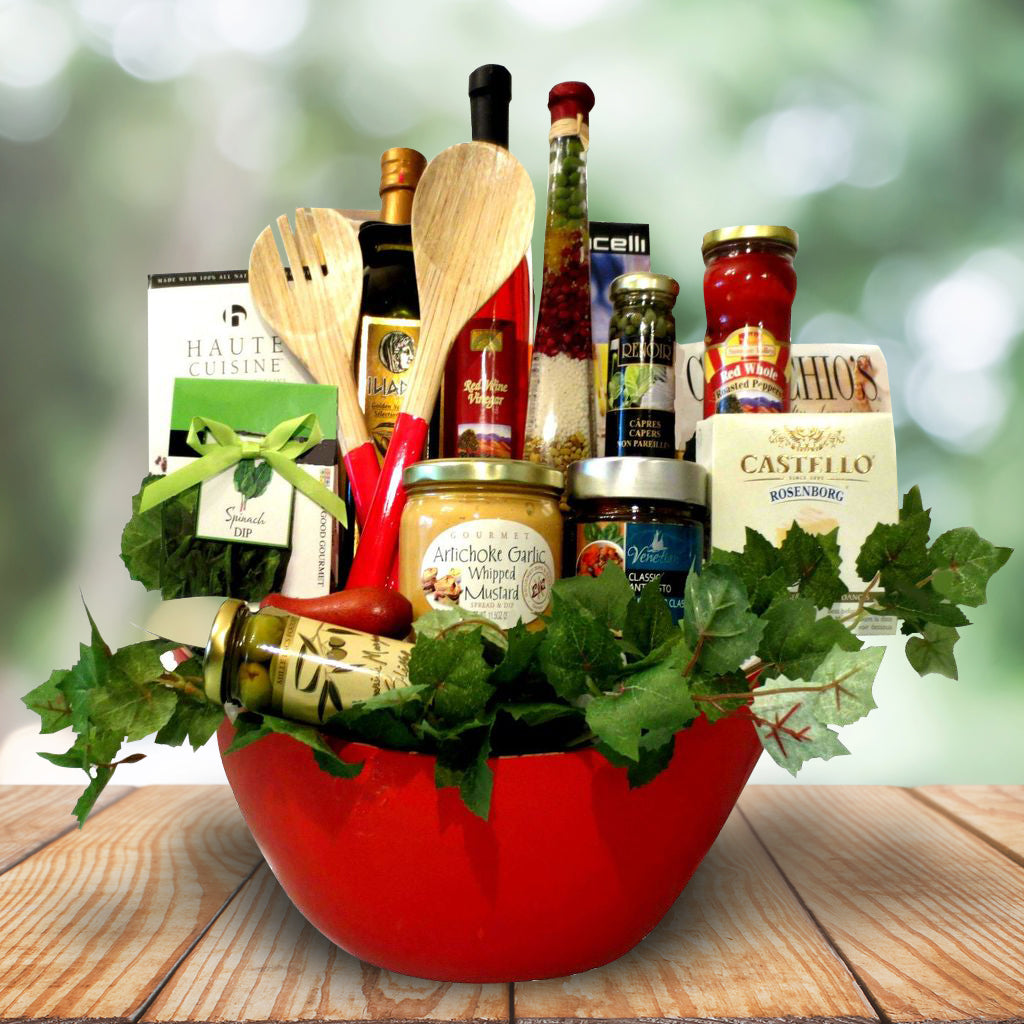 The Red Salad Gourmet Gift Basket
