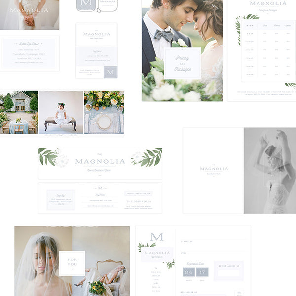 Photography Marketing Templates | FEATURING THE MAGNOLIA MARKETING SUITE