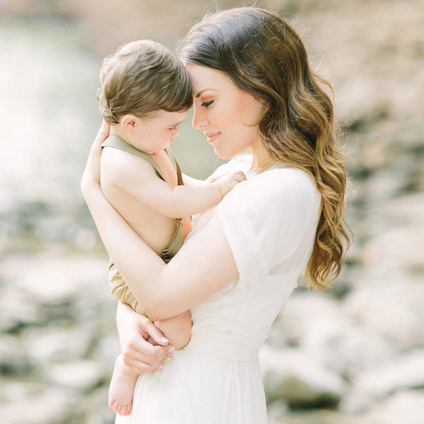 Creekside Family Session with Mustard Seed Photography