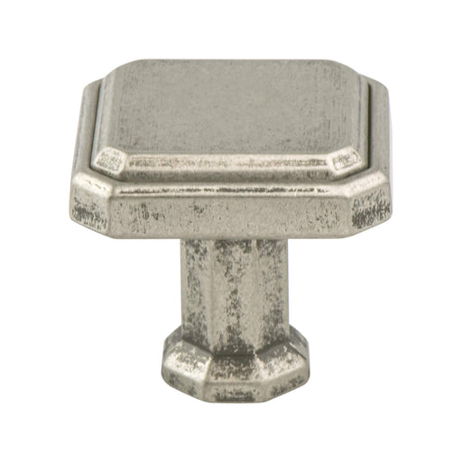 Berenson B-9460-10WN Harmony Weathered Nickel Square Knob