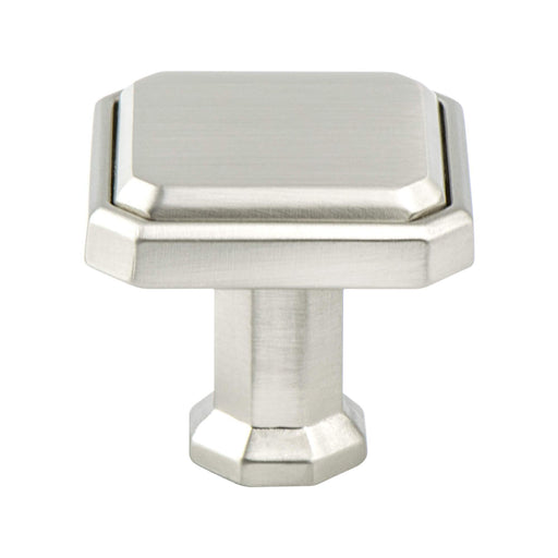 Berenson B-9462-1BPN Harmony Brushed Nickel Square Knob