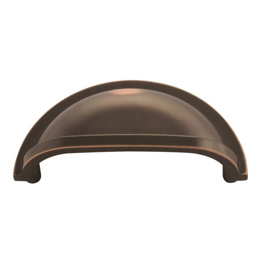 Hickory Hardware H-P3055-OBH Traditional/Williamsburg Oil Rubbed Bronze Highlighted Cup Pull