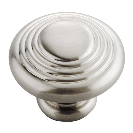 Hickory Hardware H-P3103-SN Contemporary/Deco Satin Nickel Round Knob