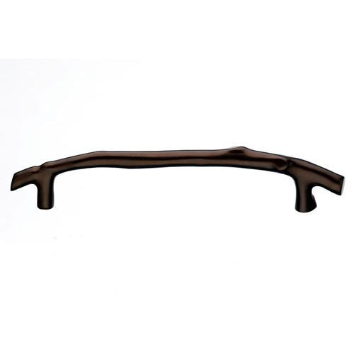 Top Knobs T-M1358 Aspen Mahogany Bronze  Twig Pull