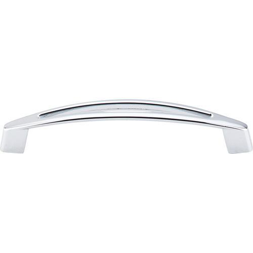 Top Knobs T-M390 Nouveau Polished Chrome Standard Pull