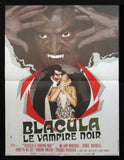Blacula French movie poster 1972 AIP