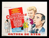 Cherchez l'idole Belgian movie poster 1964