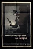 The Enforcer one sheet Clint Eastwood Dirty Harry 1976