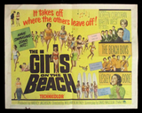 Girls On the Beach half sheet The Beach Boys