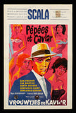 Pepees et Caviar Belgian movie poster 1961