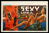 Sexy Line Belgian movie poster 1961