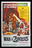 War of the Zombies one sheet 1965 AIP Reynold Brown
