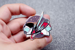 "Sheith ""Black Paladins"" Pin SECONDS"