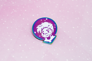 Shiro Rainbow Enamel Pin