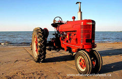 """It crawled out of the sea!"" (historic moment in tractor evolution)"
