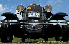 antique car show, Ailsa Craig, Ontario