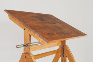 Vintage Industrial Drafting Table