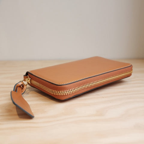 The Horse Block Wallet, Tan Two