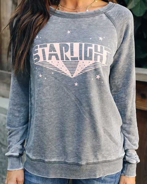 Starlight Mineral Washed Sweatshirt - FINAL SALE