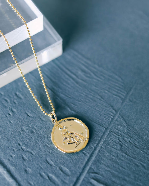 MEGHAN BO DESIGNS - Zodiac Necklace - Aquarius