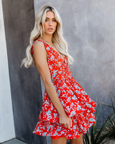 Brunch Date Floral Dress
