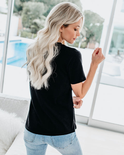 Everyday Cotton Tee - Black