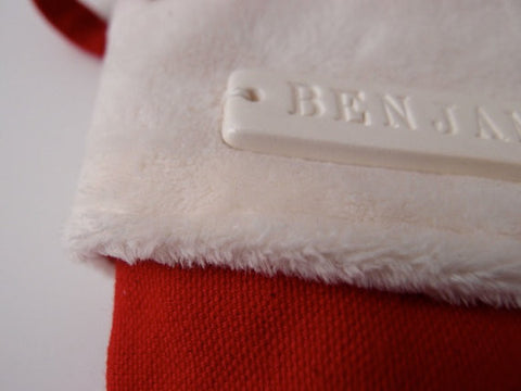 Small Personalized Christmas Stocking in Red